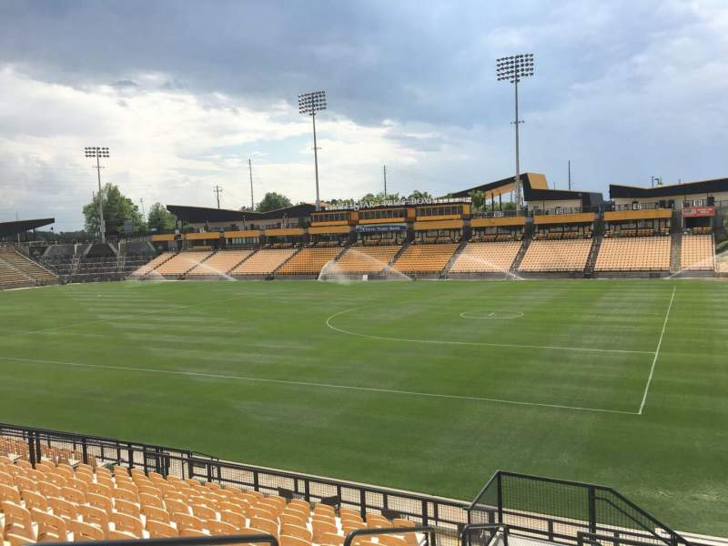 Seating view for Fifth Third Bank Stadium Section 131 Row R Seat 4