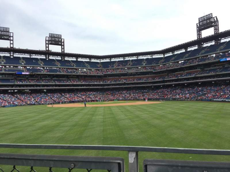 Seating view for Citizens Bank Park Section 147 Row 4 Seat 13