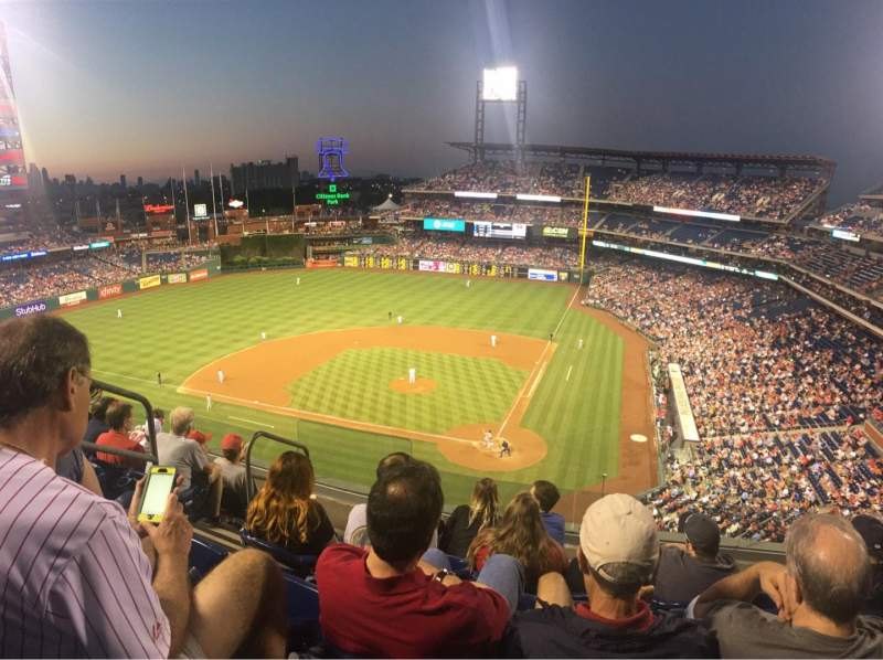 Citizens Bank Park, section: 323, row: 6, seat: 9