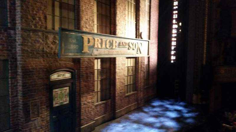 Seating view for Al Hirschfeld Theatre Section Left Box Row A Seat 3