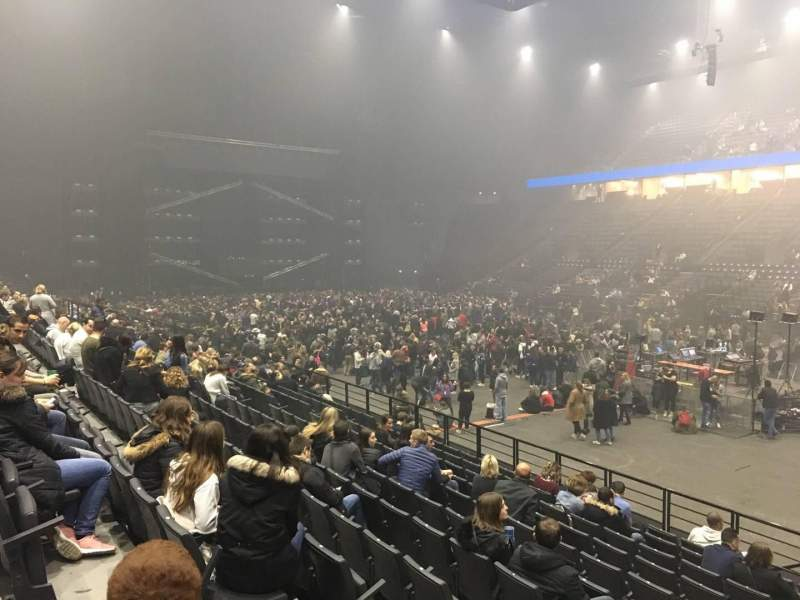 AccorHotels Arena, section: R, row: 17, seat: 12
