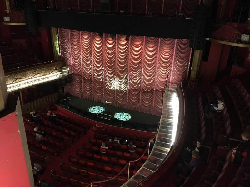 Seating view for Folies Bergere Section Galerie Row A Seat 30