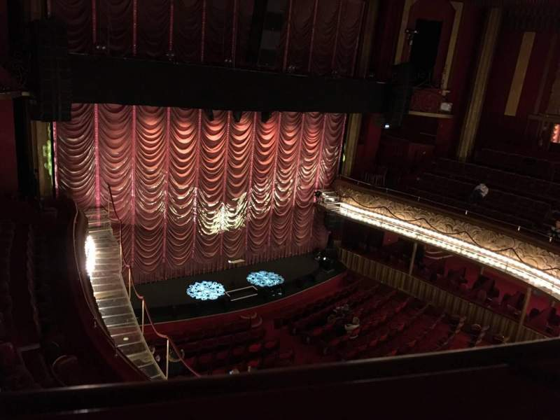Seating view for Folies Bergère Section Galerie Row A Seat 35