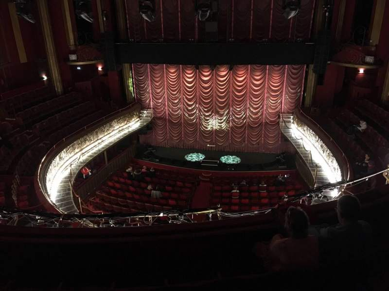 Seating view for Folies Bergère Section Gallerie Row E Seat 14