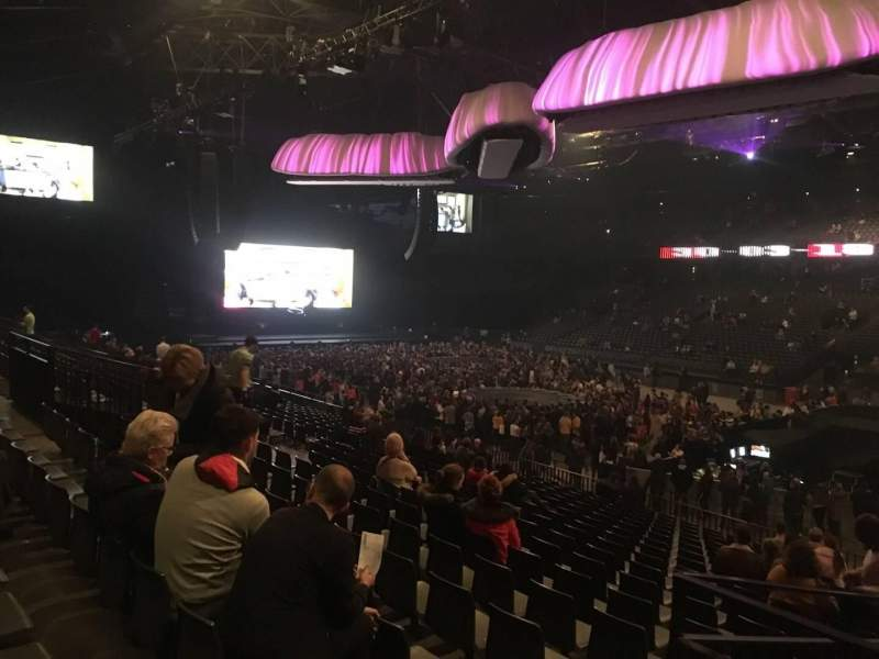 Sportpaleis, section: 145, row: 30, seat: 4