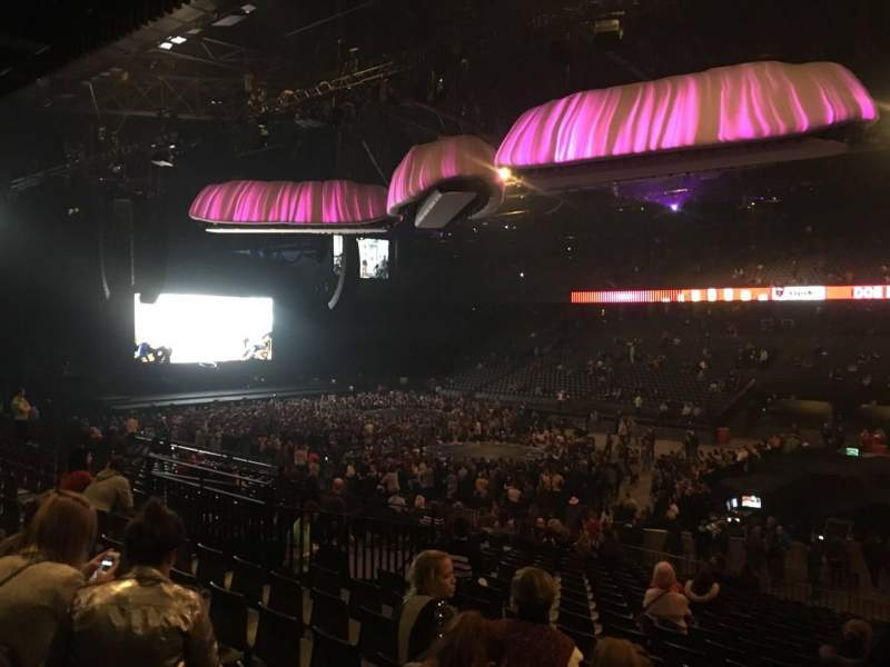 Sportpaleis, section: 146, row: 33, seat: 3