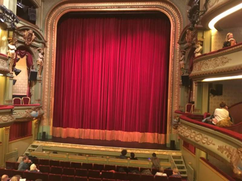 Seating view for Théâtre Royal du Parc Section Premier Balcon Row B Seat 30