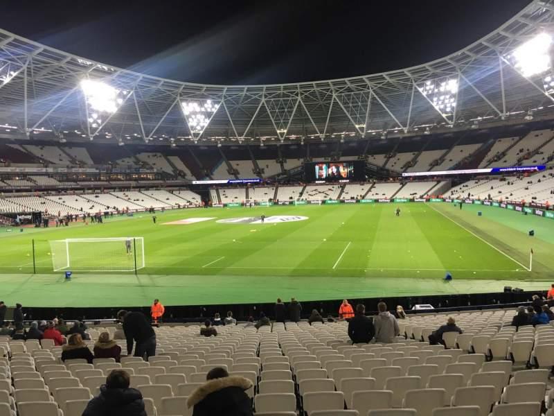 London Stadium, section: 126, row: 22