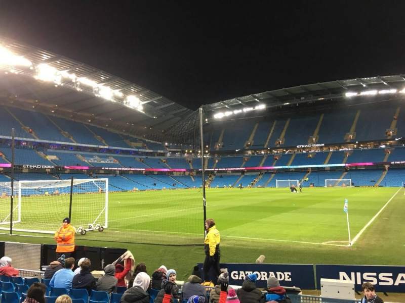 Seating view for Etihad Stadium (Manchester) Section 134 Row G Seat 932