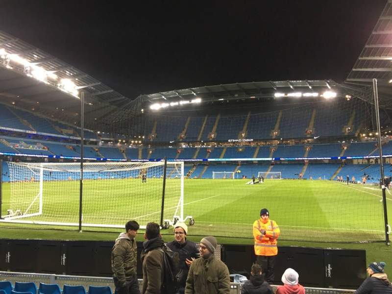 Seating view for Etihad Stadium (Manchester) Section 135 Row E Seat 949