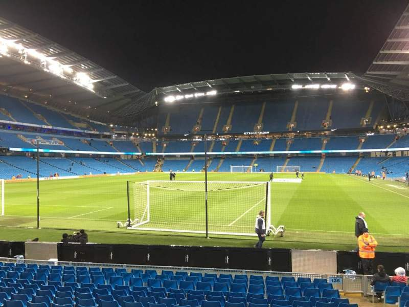 Seating view for Etihad Stadium (Manchester) Section 135 Row N Seat 965