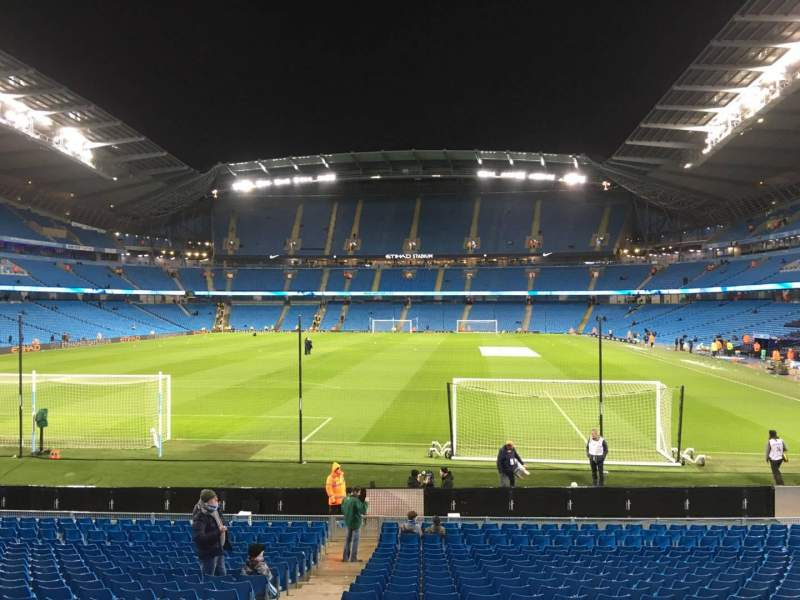 Seating view for Etihad Stadium (Manchester) Section 136 Row W Seat 985