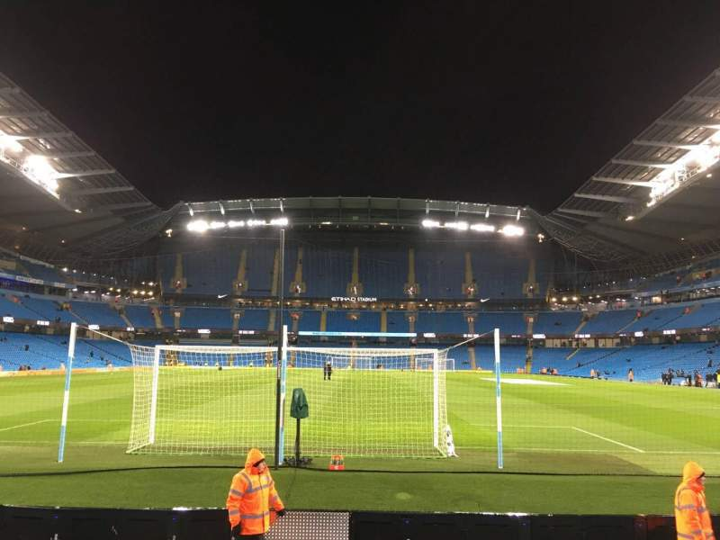 Seating view for Etihad Stadium (Manchester) Section 137 Row G Seat 1015