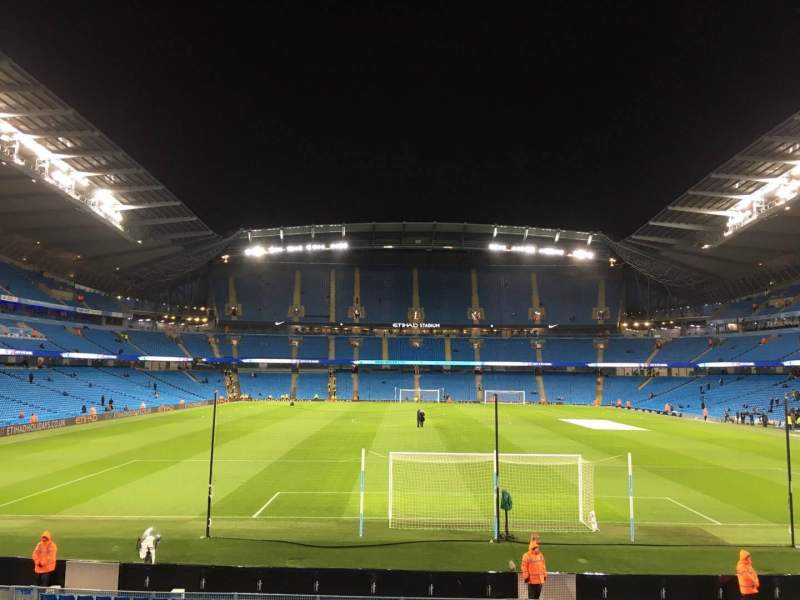 Seating view for Etihad Stadium (Manchester) Section 137 Row X Seat 1030