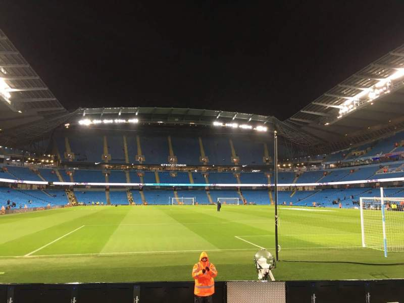 Seating view for Etihad Stadium (Manchester) Section 138 Row H Seat 172