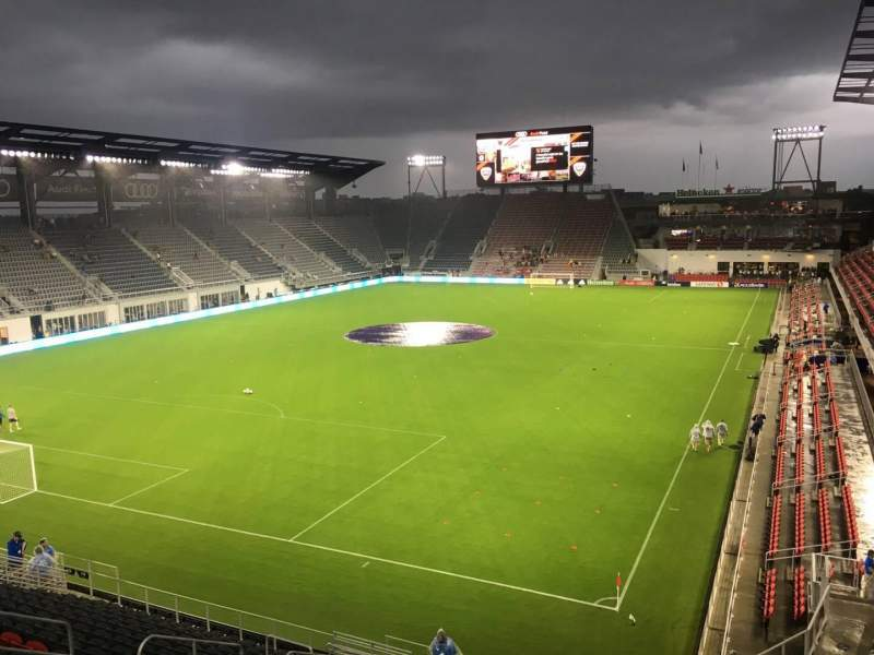 Audi Field, section: 114, row: 21, seat: 4