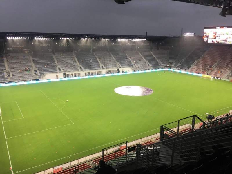 Audi Field, section: 110, row: 36, seat: 17