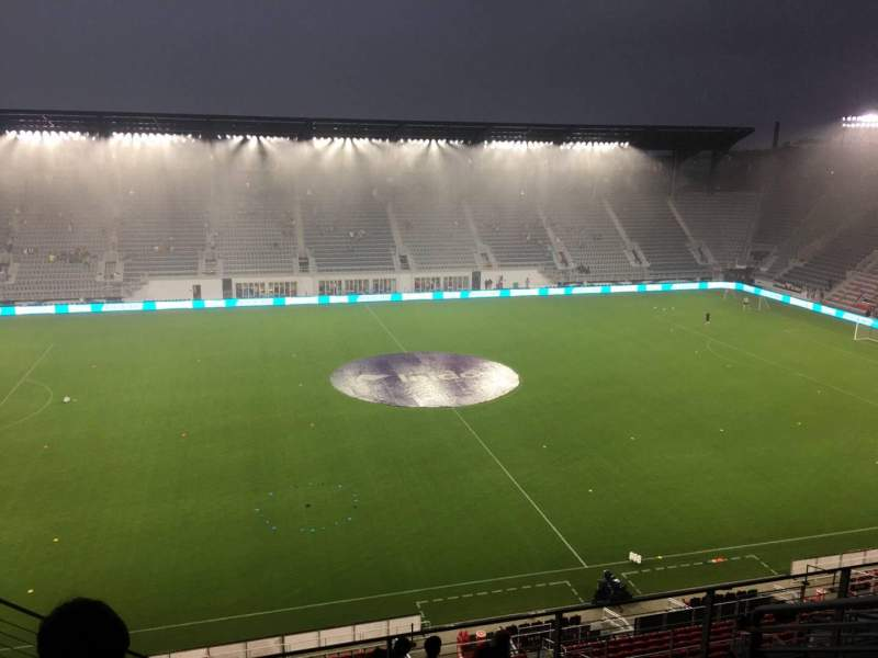 Audi Field, section: 107, row: 11, seat: 21