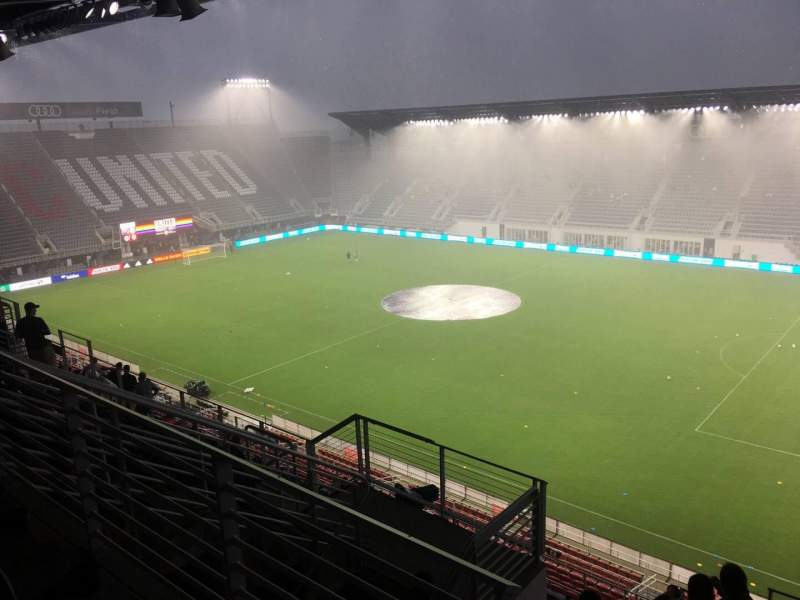 Audi Field, section: 102, row: 13, seat: 14