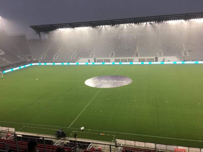 Audi Field, section: 105, row: 6, seat: 12