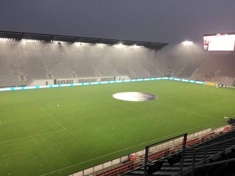 Audi Field, section: 110, row: 3, seat: 6