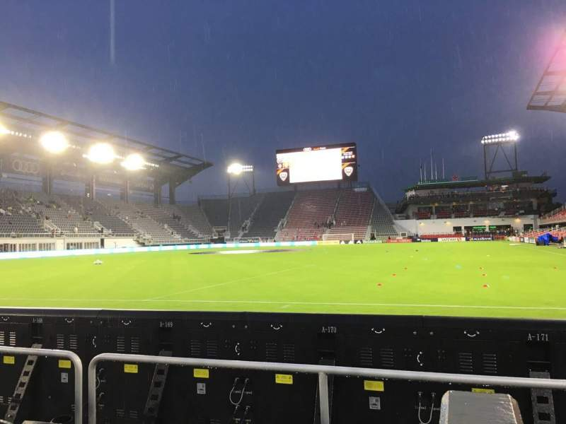 Audi Field, section: 115, row: 3, seat: 1