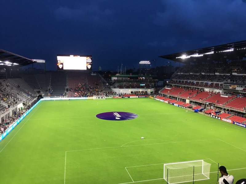 Seating view for Audi Field Section 118 Row 28 Seat 18