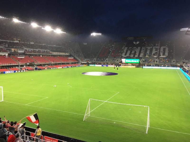 Audi Field, section: 135, row: 10, seat: 2