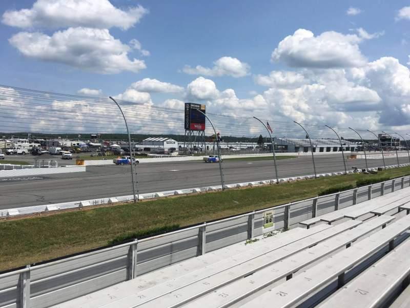 Pocono Raceway, section: 143, row: 9, seat: 13