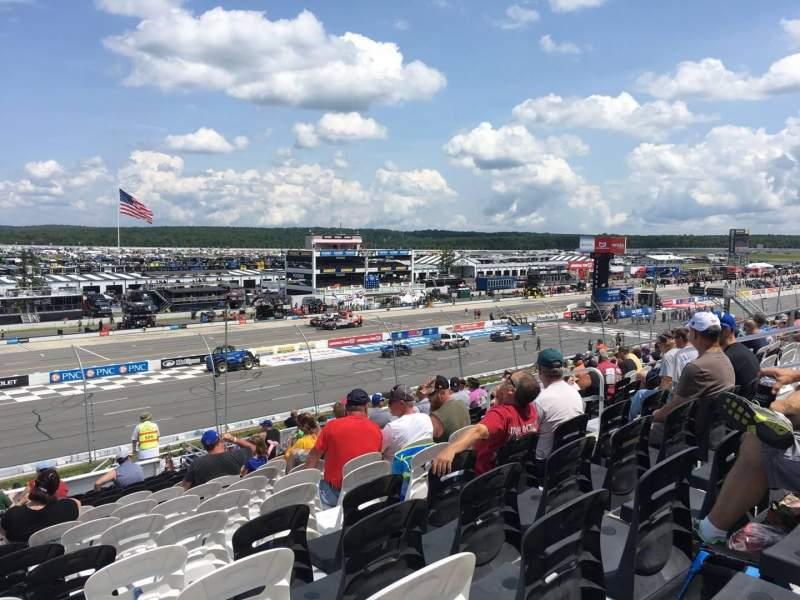 Pocono Raceway, section: 233, row: 34, seat: 9