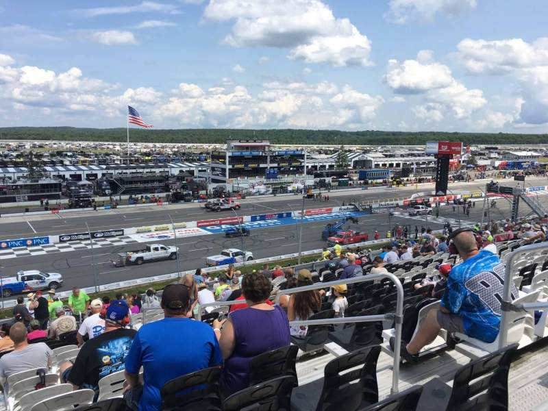 Pocono Raceway, section: 231, row: 40, seat: 4