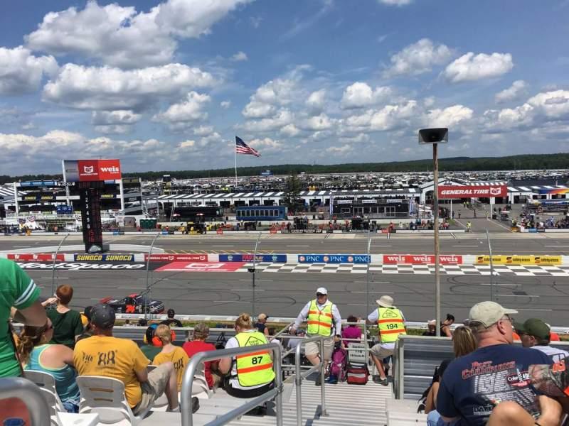 Pocono Raceway, section: 220, row: 25, seat: 1