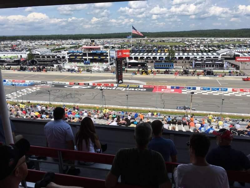Pocono Raceway, section: 321, row: D, seat: 22