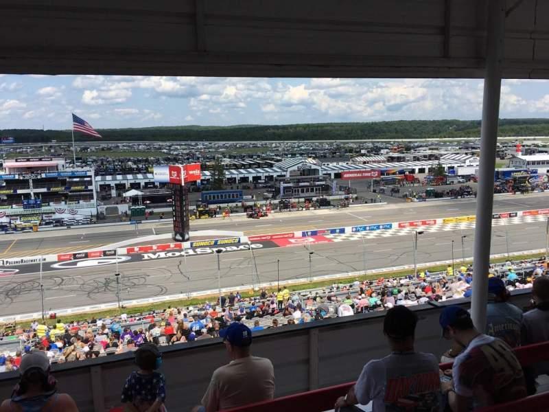 Pocono Raceway, section: 323, row: D, seat: 9