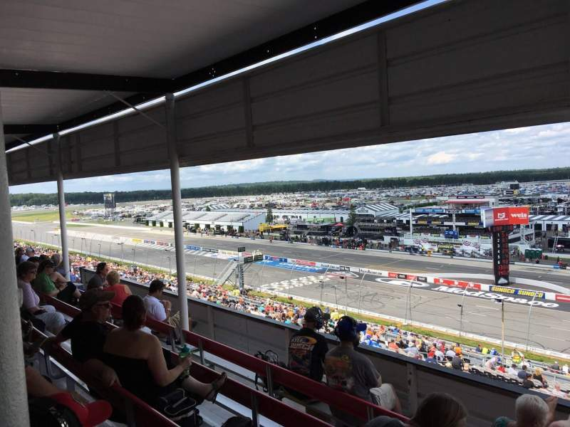 Pocono Raceway, section: 320, row: D, seat: 3