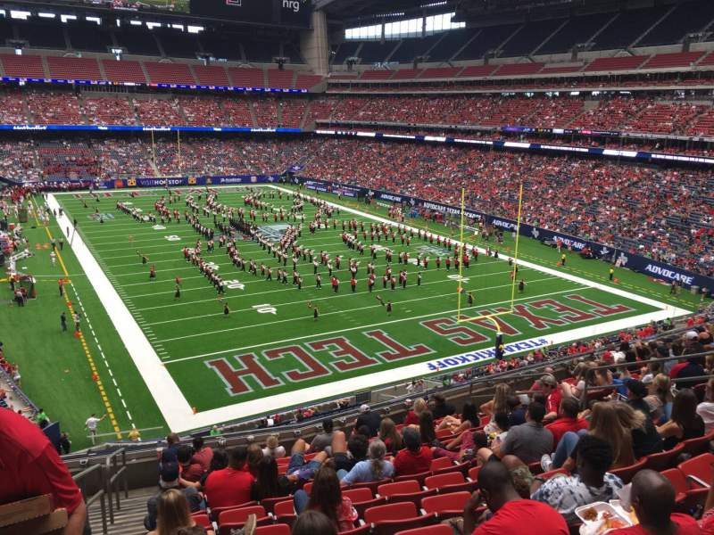 Seating view for NRG Stadium Section 354 Row M Seat 16