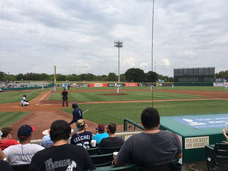 Seating view for Nelson W. Wolff Municipal Stadium Section 106 Row G Seat 9