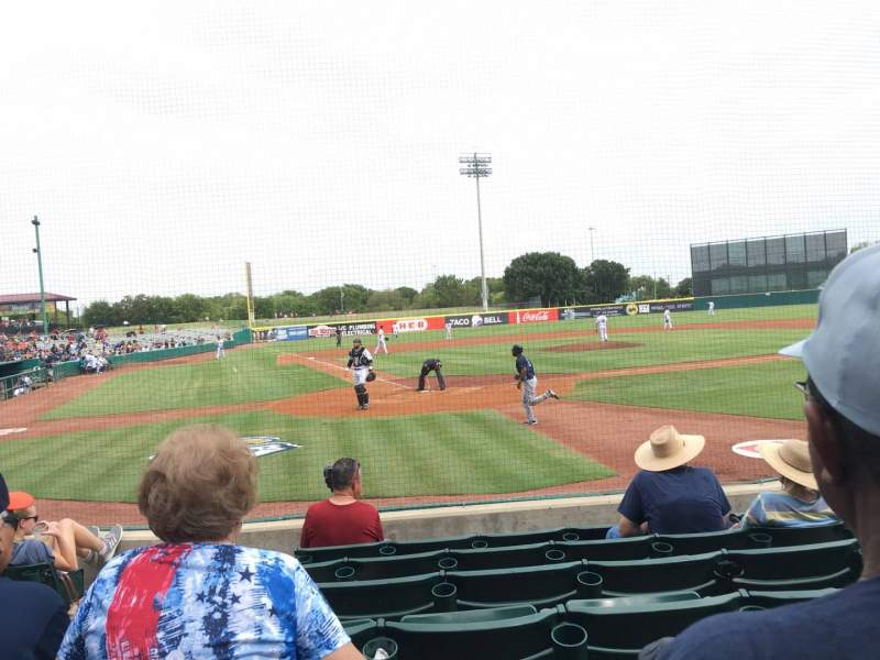Seating view for Nelson W. Wolff Municipal Stadium Section 104 Row G Seat 4