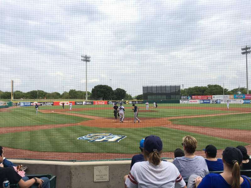 Seating view for Nelson W. Wolff Municipal Stadium Section 102 Row F Seat 1