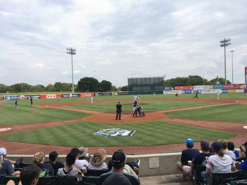 Seating view for Nelson W. Wolff Municipal Stadium Section 100 Row H Seat 1