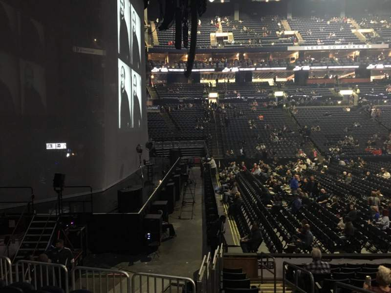 Seating view for Nationwide Arena Section 117 Row M Seat 2