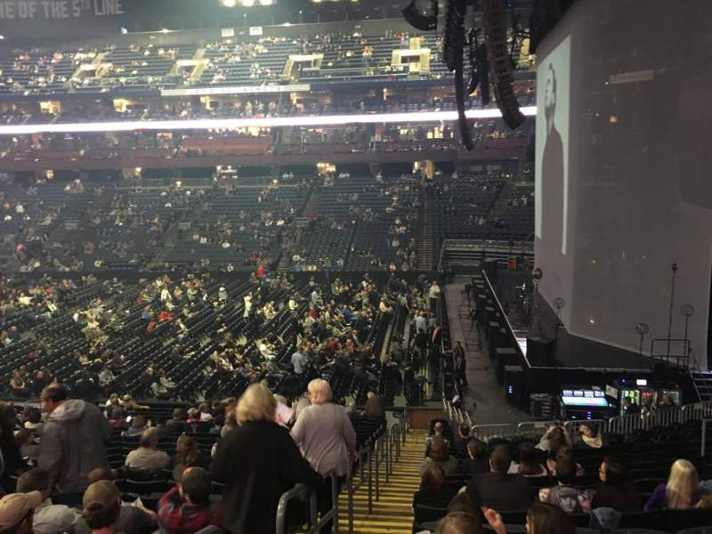 Seating view for Nationwide Arena Section 101 Row X Seat 14