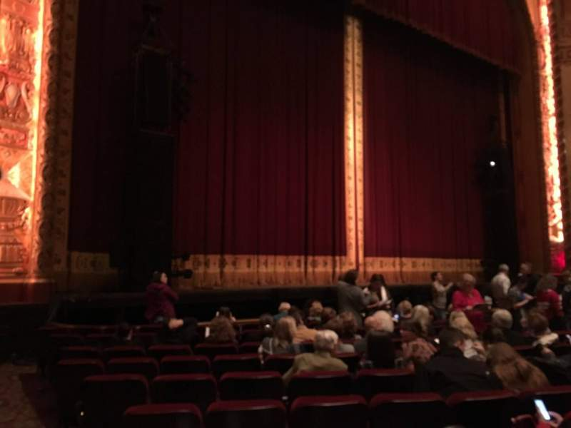 Seating view for Shea's Buffalo Section Orchestra 4 Row K Seat 25