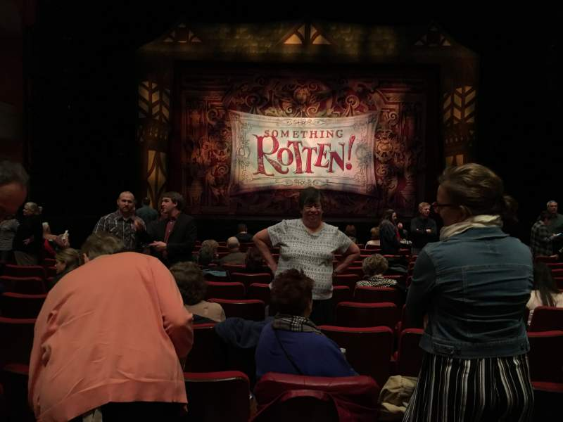 Seating view for Thrivent Hall at Fox Cities Performing Arts Center Section Orch C Row M Seat 108