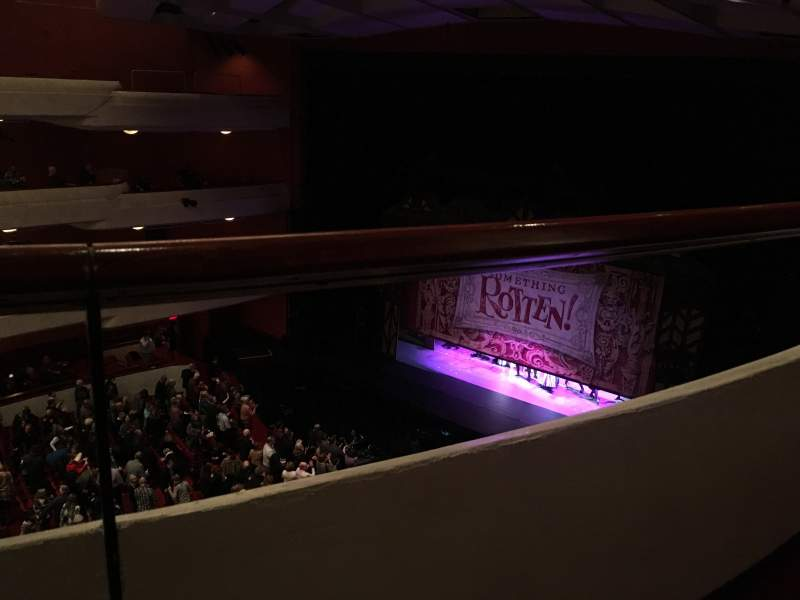 Seating view for Fox Performing Arts Center Section Family Circke Row A Seat 453