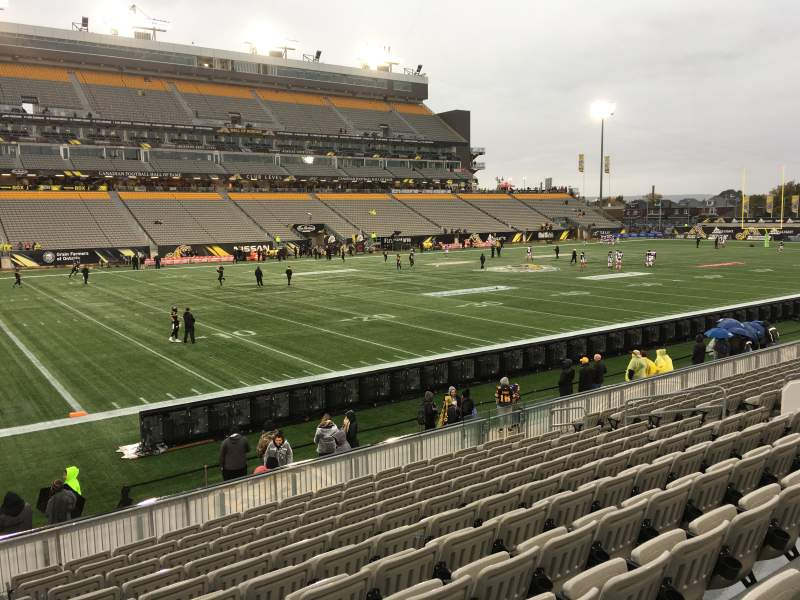 Seating view for Tim Hortons Field Section 118 Row 12 Seat 16