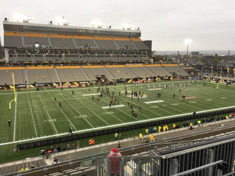 Seating view for Tim Hortons Field Section 218 Row 12 Seat 5