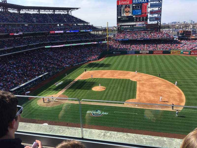 Seating view for Citizens Bank Park Section 315 Row 2 Seat 5