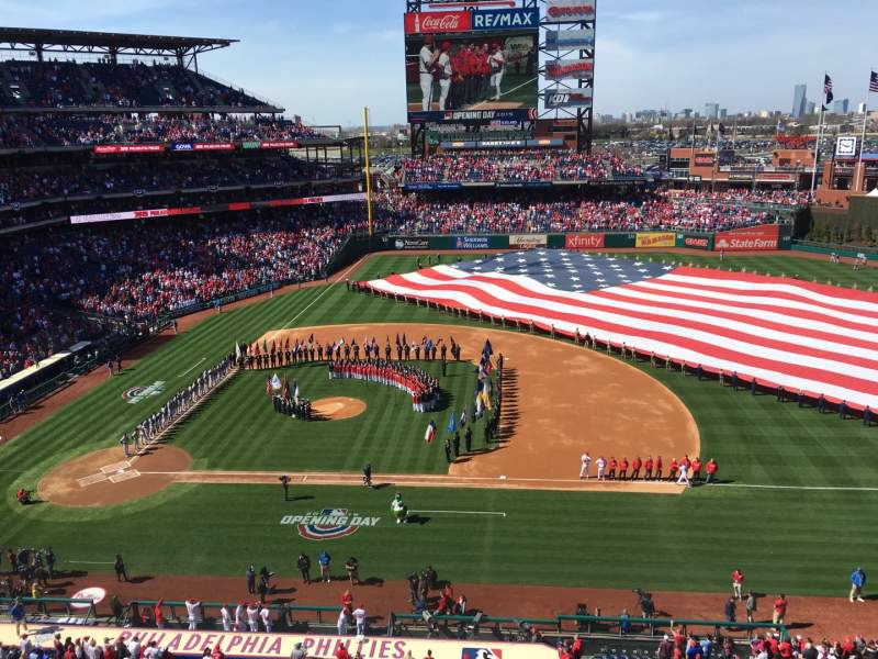 Seating view for Citizens Bank Park Section 315 Row 2 Seat 6