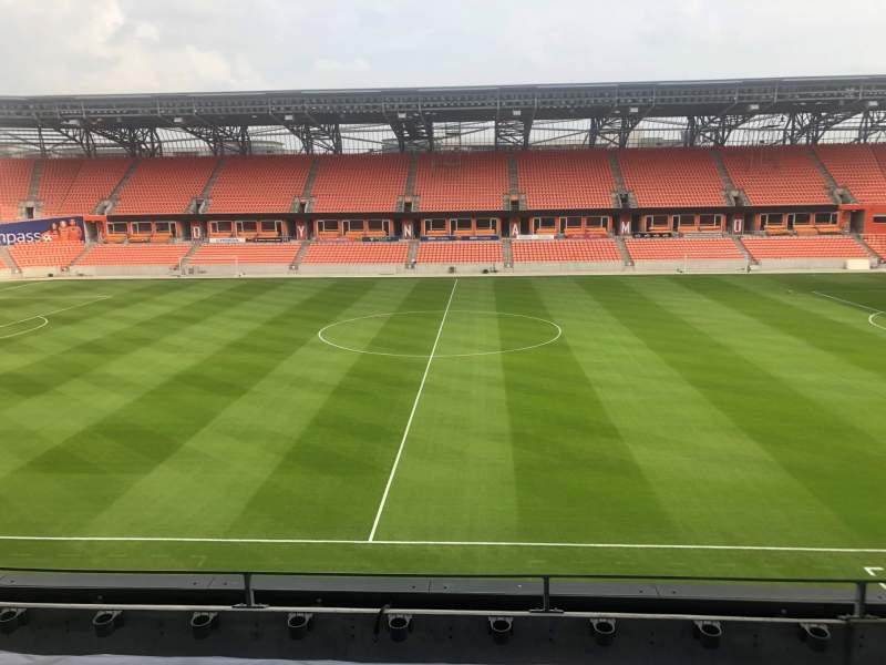 Seating view for BBVA Stadium Section PC3